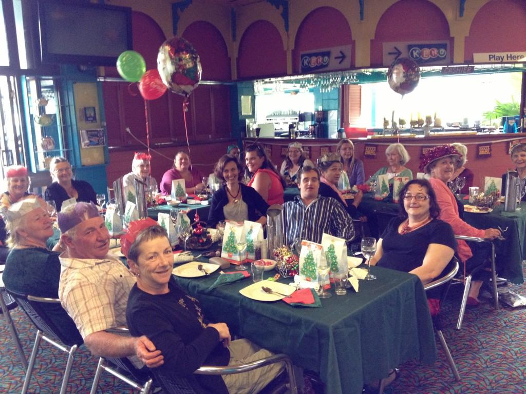 Kuranda Volunteer Christmas in July Lunch 2013